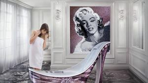 Glass mosaic of Sicis / Marylin