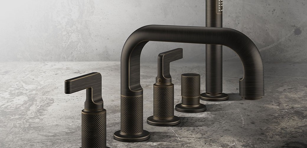 Gessi produces 100% Made in  Italy Faucets, Taps & Shower Mixers