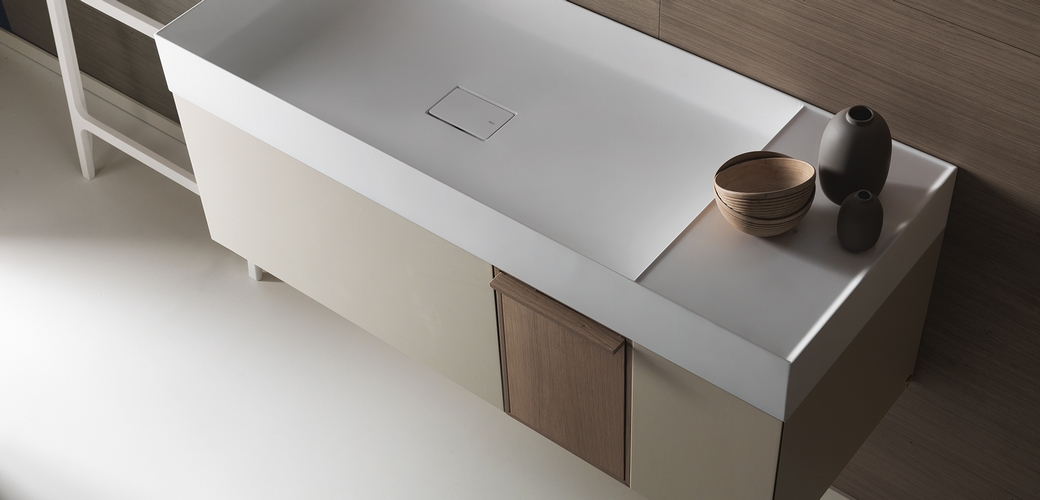 bathroom furniture of falper quattro.zero