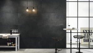 Ceramic tiles black colour